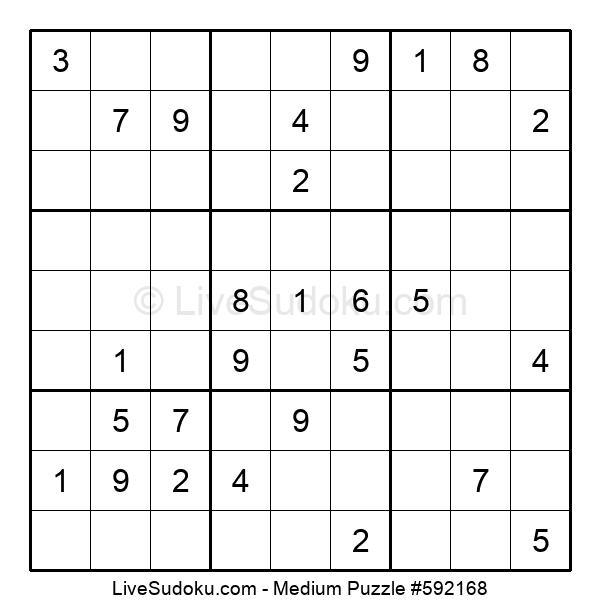 Medium Puzzle #592168