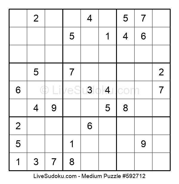 Medium Puzzle #592712