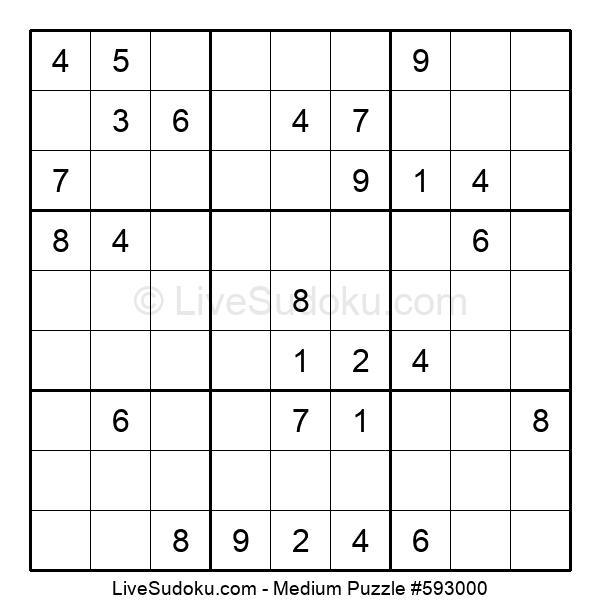 Medium Puzzle #593000