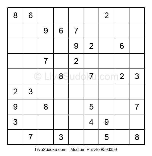 Medium Puzzle #593359
