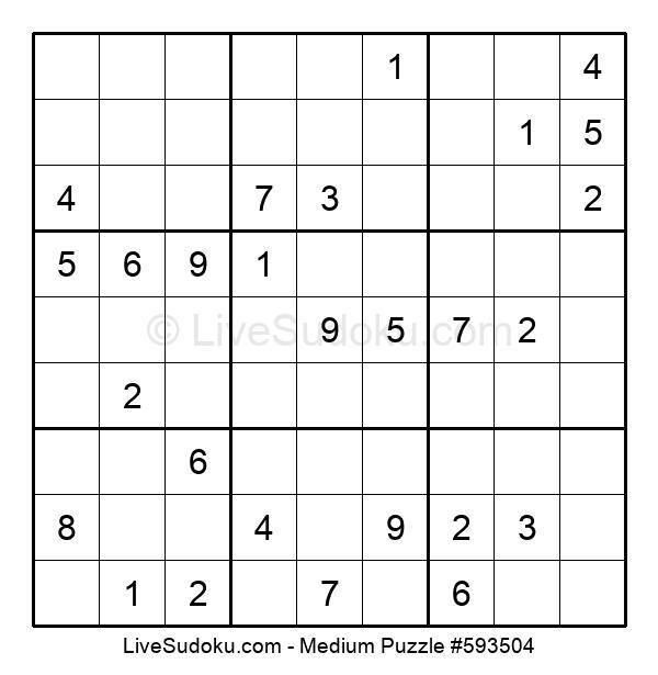 Medium Puzzle #593504
