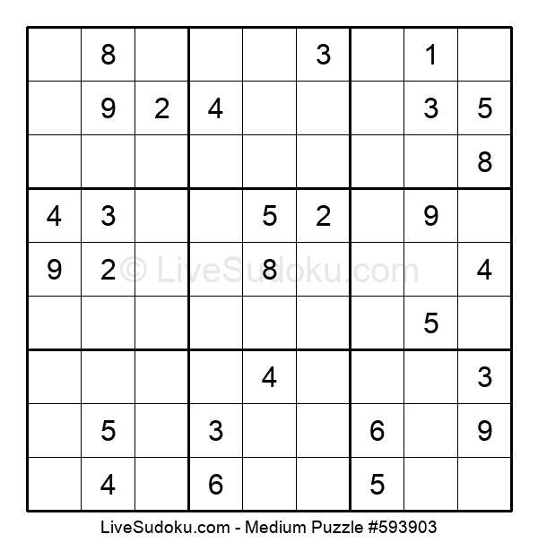 Medium Puzzle #593903