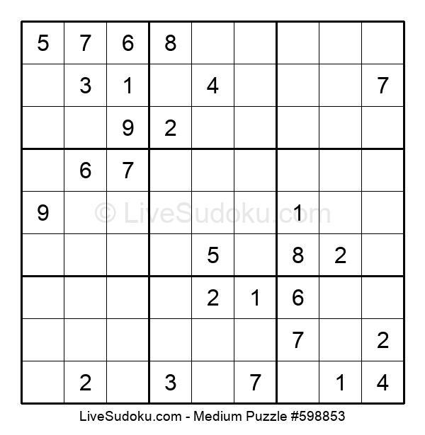 Medium Puzzle #598853
