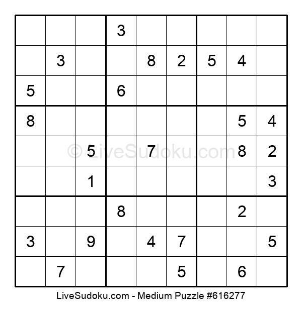 Medium Puzzle #616277