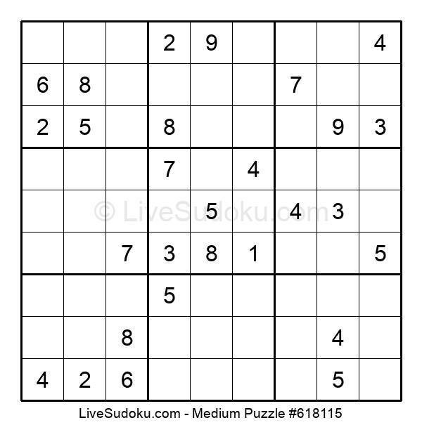 Medium Puzzle #618115