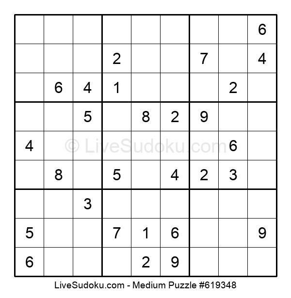 Medium Puzzle #619348