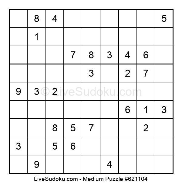 Medium Puzzle #621104