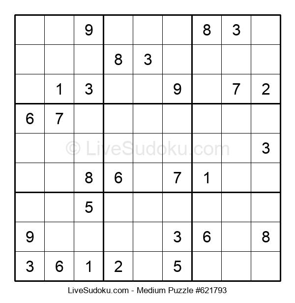Medium Puzzle #621793