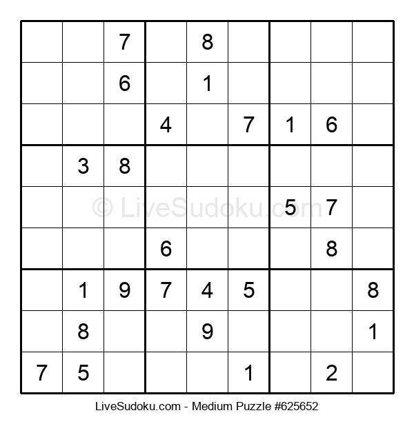 Medium Puzzle #625652