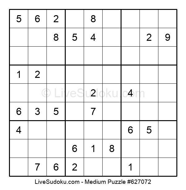 Medium Puzzle #627072