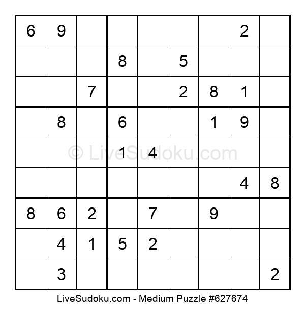 Medium Puzzle #627674