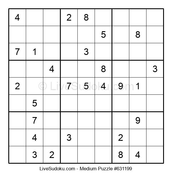 Medium Puzzle #631199