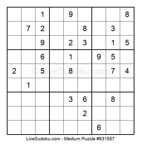 Medium Puzzle #631557