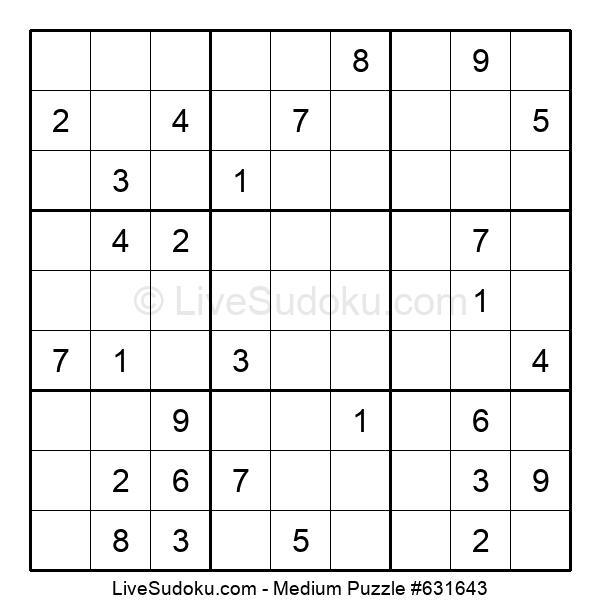 Medium Puzzle #631643