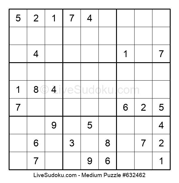Medium Puzzle #632462