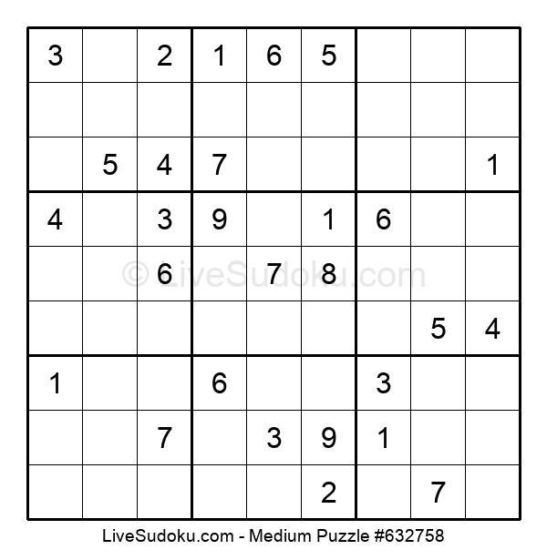 Medium Puzzle #632758