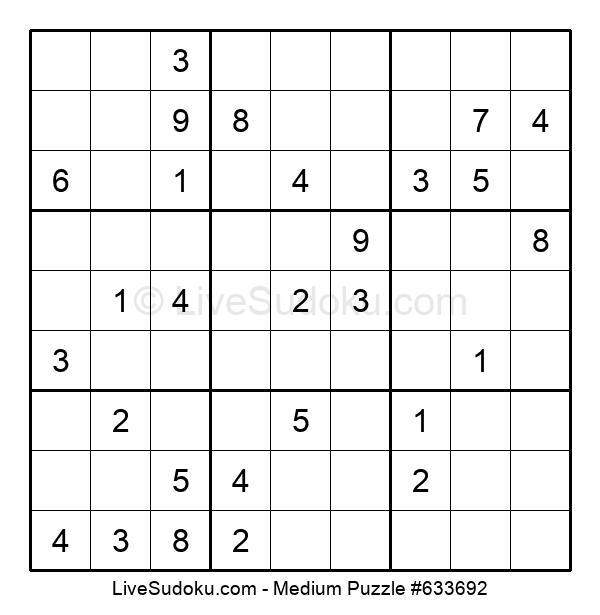 Medium Puzzle #633692