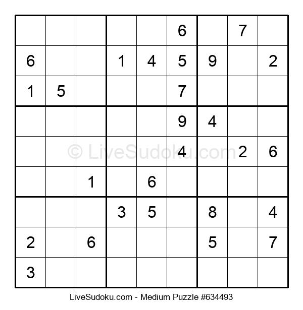 Medium Puzzle #634493