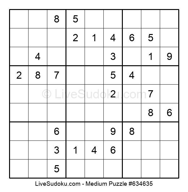 Medium Puzzle #634635