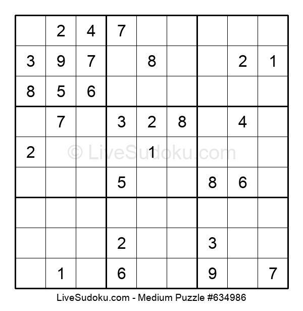 Medium Puzzle #634986