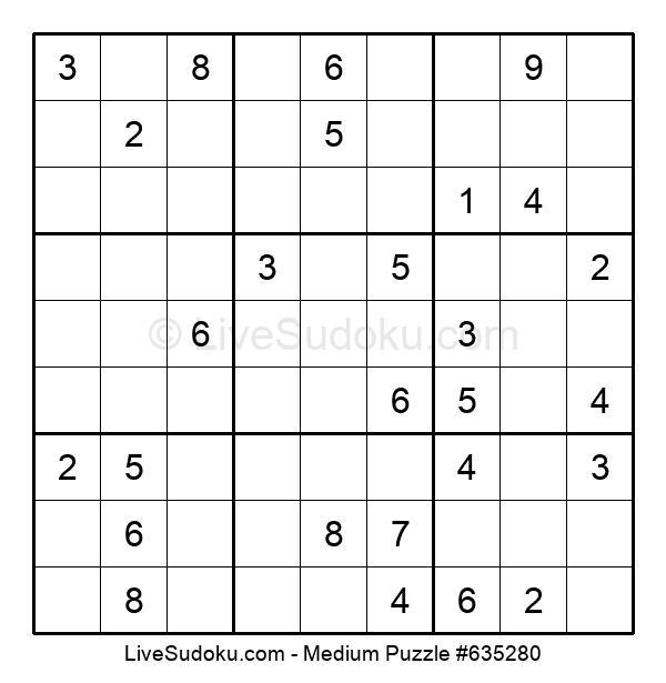 Medium Puzzle #635280