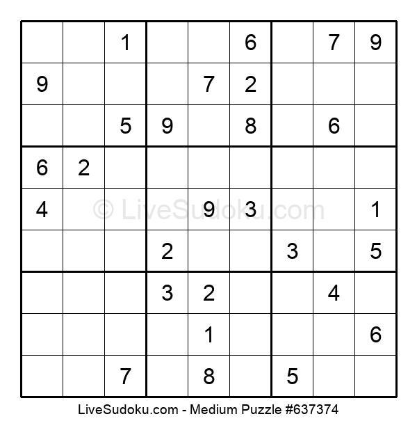 Medium Puzzle #637374