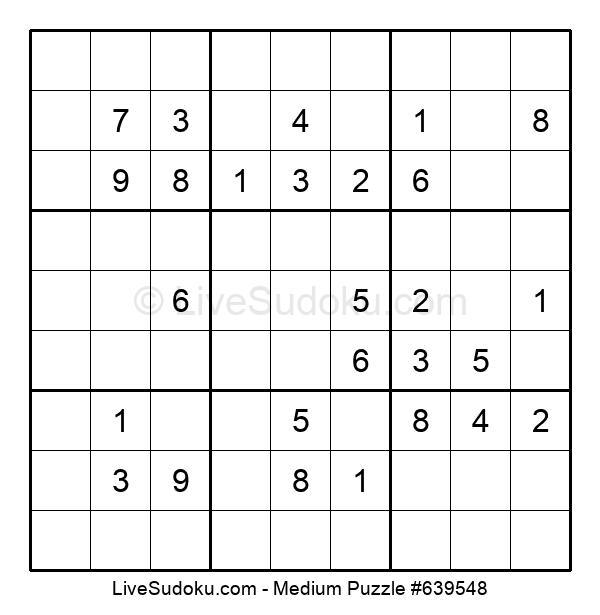 Medium Puzzle #639548