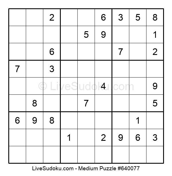 Medium Puzzle #640077