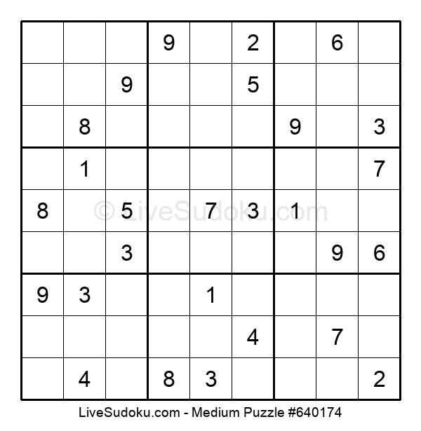 Medium Puzzle #640174