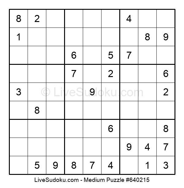 Medium Puzzle #640215