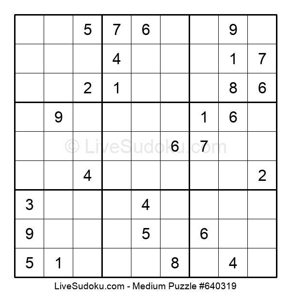 Medium Puzzle #640319