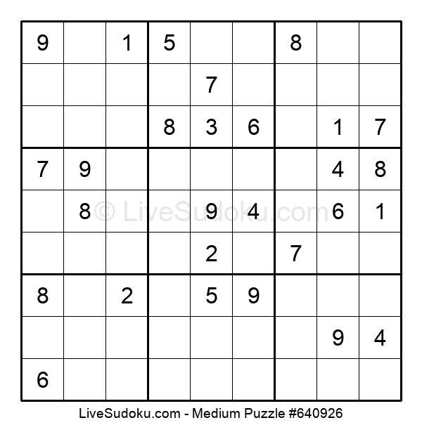Medium Puzzle #640926