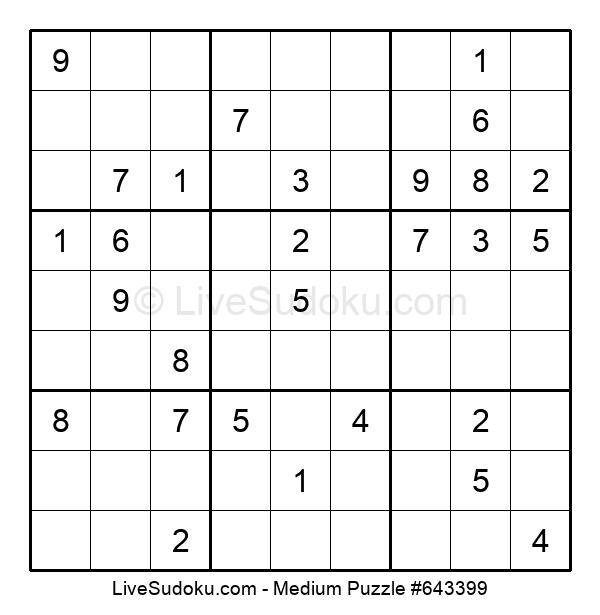 Medium Puzzle #643399
