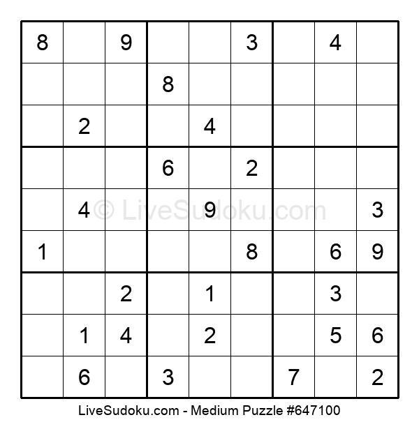 Medium Puzzle #647100