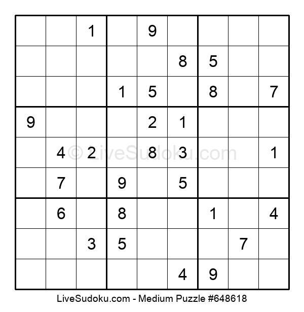 Medium Puzzle #648618