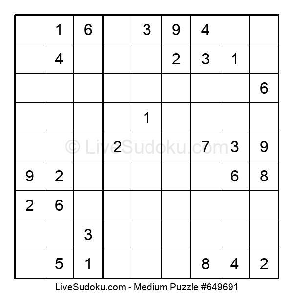 Medium Puzzle #649691