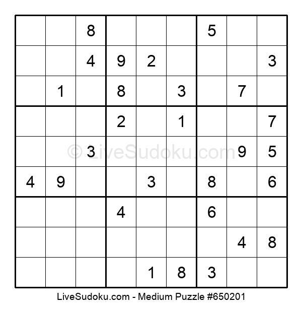 Medium Puzzle #650201