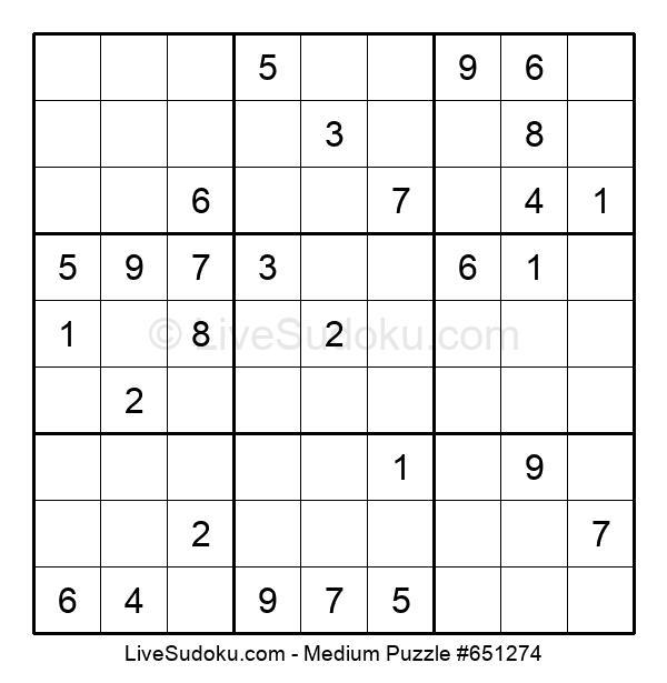 Medium Puzzle #651274