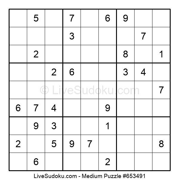 Medium Puzzle #653491