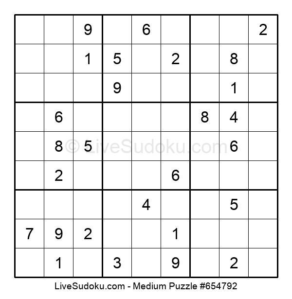 Medium Puzzle #654792