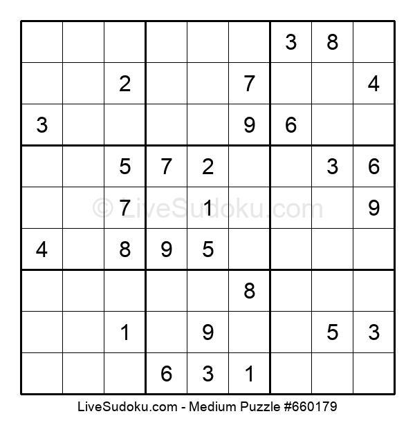 Medium Puzzle #660179