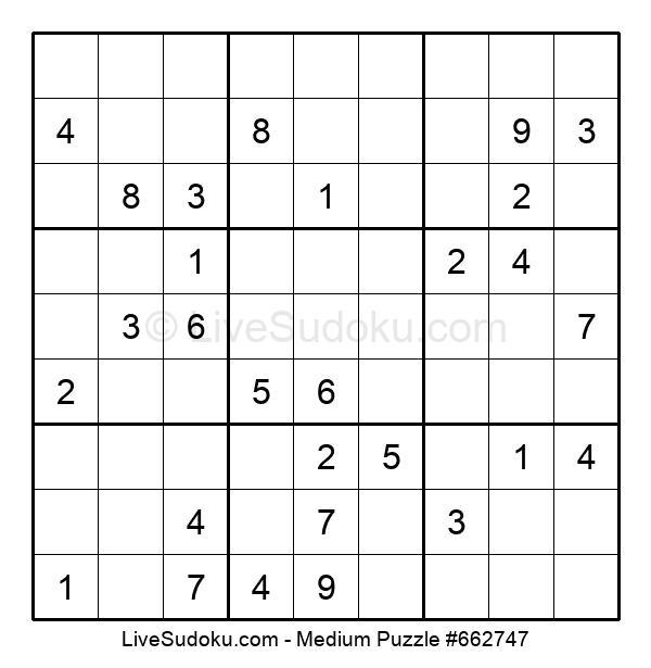 Medium Puzzle #662747