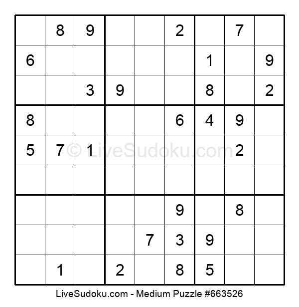 Medium Puzzle #663526