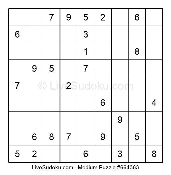 Medium Puzzle #664363