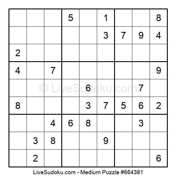 Medium Puzzle #664381