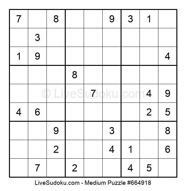 Medium Puzzle #664918