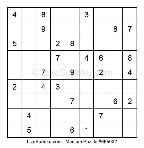 Medium Puzzle #665032