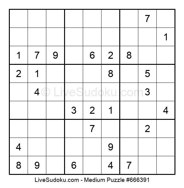 Medium Puzzle #666391