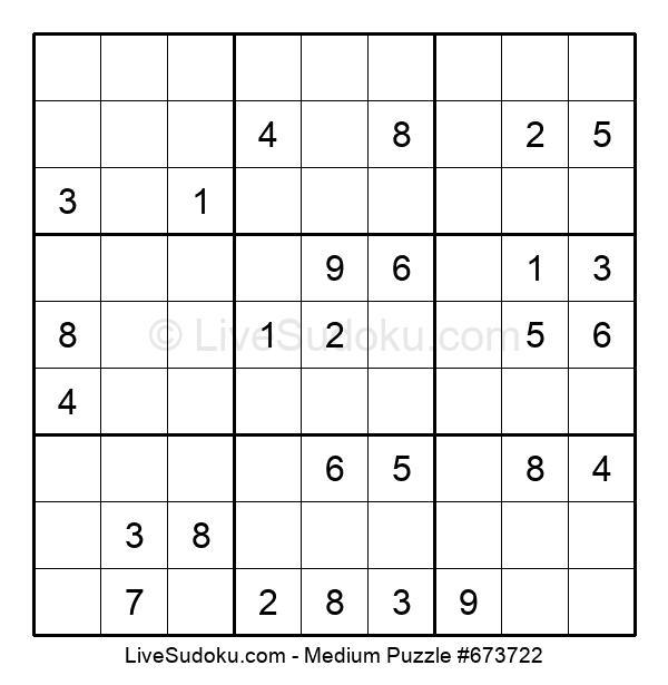 Medium Puzzle #673722