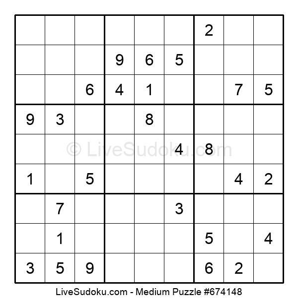 Medium Puzzle #674148